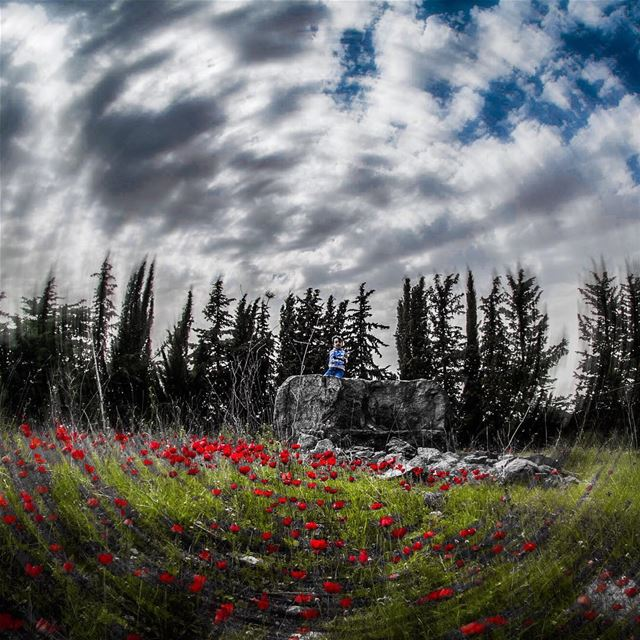 Into the Void........ young  motion  blur  kid  nephew  landscape... (Chouf)