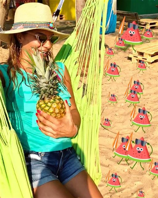 Attack of the Watermelon! Save the Pineapple! 🍉🍉🍉 vs.🍍🍍🍍.....@n (El Herri, Liban-Nord, Lebanon)