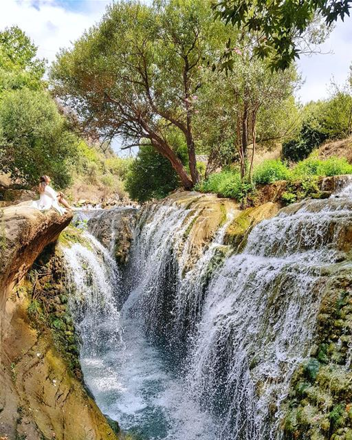 I thought I'd seen all types of waterfalls until I found this place. I... (`Akkar, Liban-Nord, Lebanon)