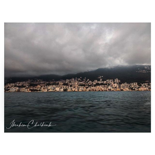 Jounieh, a city stuck between vapor and liquid water -  ichalhoub in...