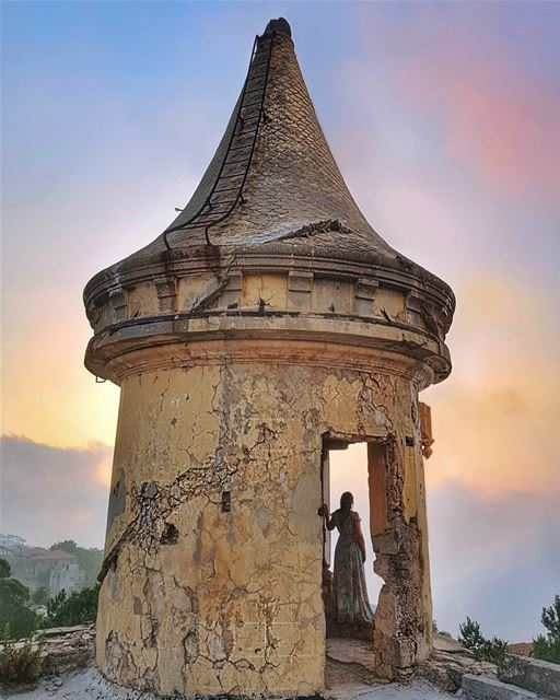 Life might present you with one broken fairy-tale after the other, but the... (Sawfar, Mont-Liban, Lebanon)