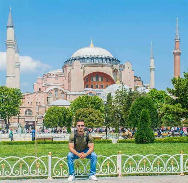Sometimes, you just need a break, in a beautiful place, alone,  to figure... (Aya Sophia)