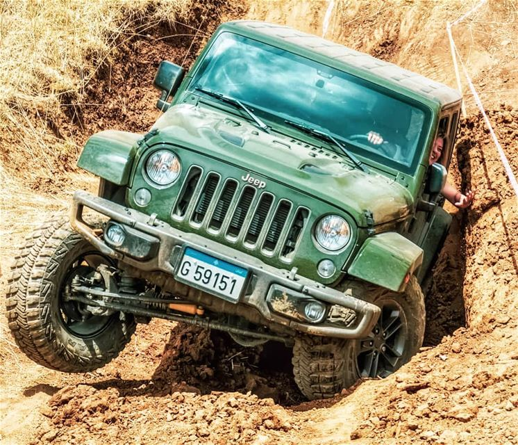 O|||||||O Her adoring the soils she drives on 💚   lebanon  jeeps ...