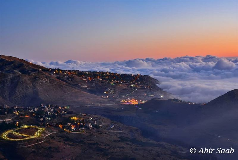 From Faraya above the clouds ☁️☁️ ... lebanon  faraya  livelovefaraya ... (Faraya, Mont-Liban, Lebanon)
