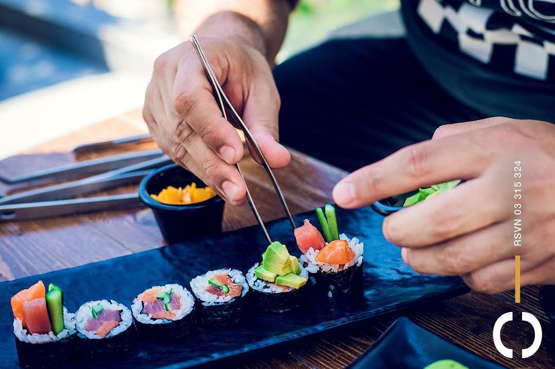 Perfection is overestimated, but never in Sushi! Jackieo  Rooftop ...
