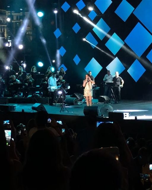 Elissa in @beirutholidays 2018, what a memorable night full of emotions!... (Beirut Waterfront)