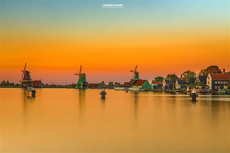 If you have no idea how heaven looks like, I advise you to visit... (Zaanse Schans,  Netherlands)