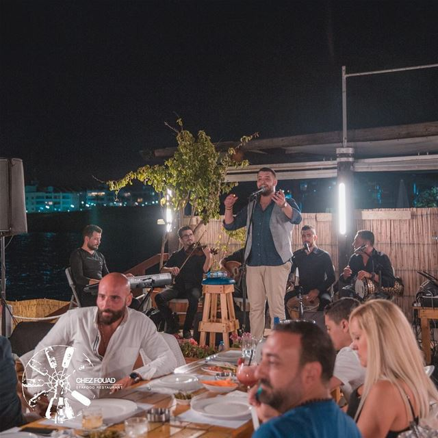 Never ending summer nights! -- chezfouad  tahetelrih  beach  restaurant ... (Chez Fouad)