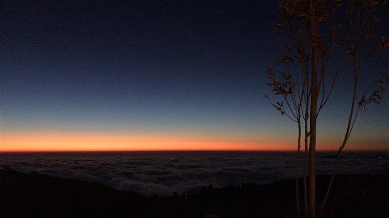 So Peacefuuuuuuul lebanon  sunset  view  mountains  clouds  sky ... (Jouroudi)