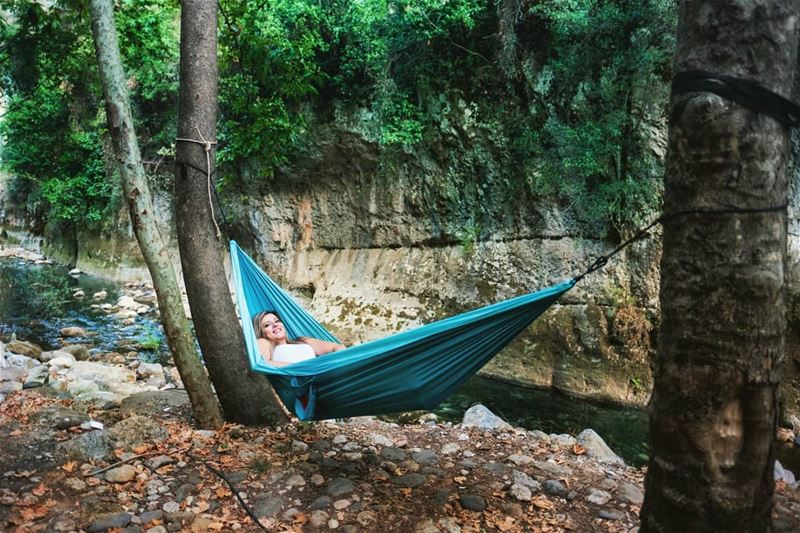 lebanon  river  mountains  scenery  hammock  peaceful  portraits ...