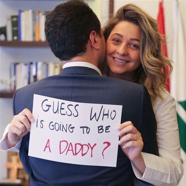 Congratulations Carine and @samy_gemayel 😍😍  pregnancyannouncement ...