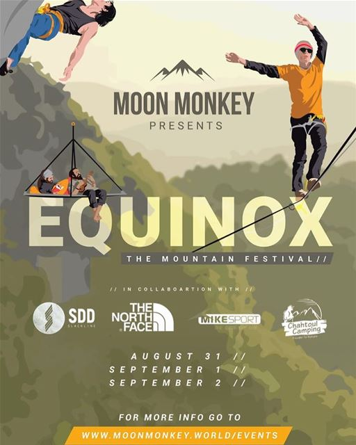 We are proudly a part of EQUINOX the mountain festival 🍻🤘 @moonmonkeyleba