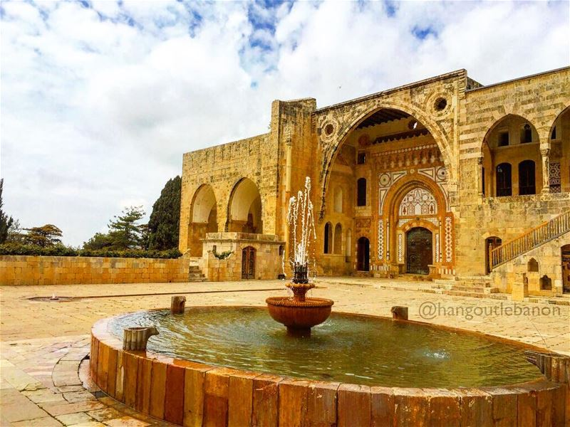 The palace of Beiteddine is one of the jewels of Arab architecture in... (Beiteddine Palace)