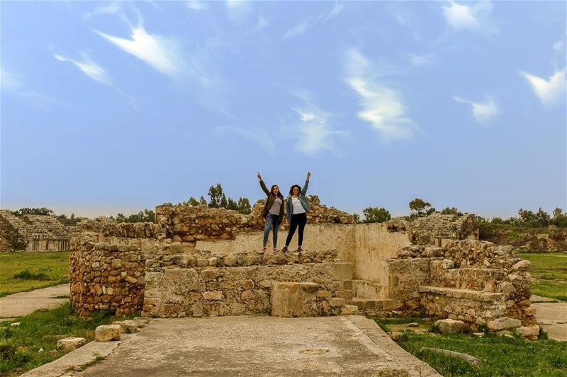 Say hello to my little friends!..... natgeoshot  natgeotravelpic ... (Tyre, Lebanon)