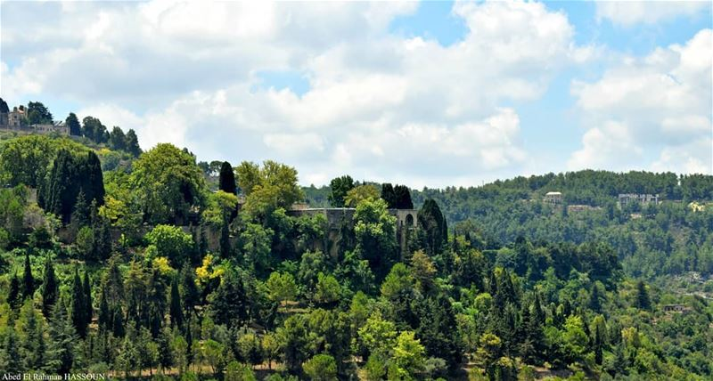 The green Chouf 💚............. elchouf  beiteddine   قصر_موس (Chouf)