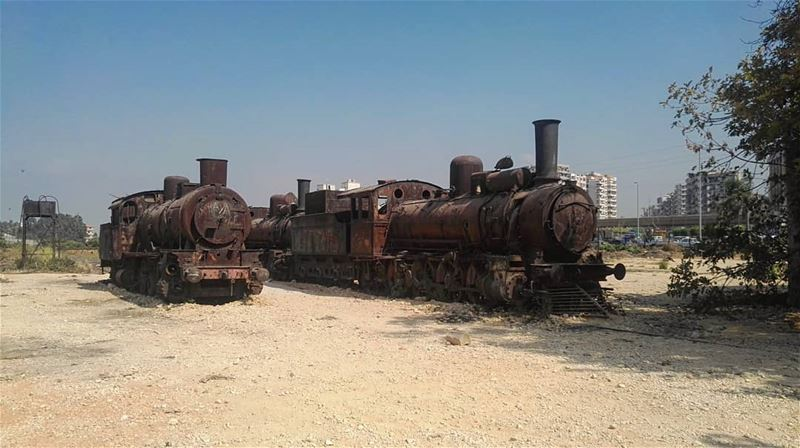 Journey to the lost heritage 🚂🇱🇧 lebanon  lebanese  old  trains  steam... (Tripoli, Lebanon)