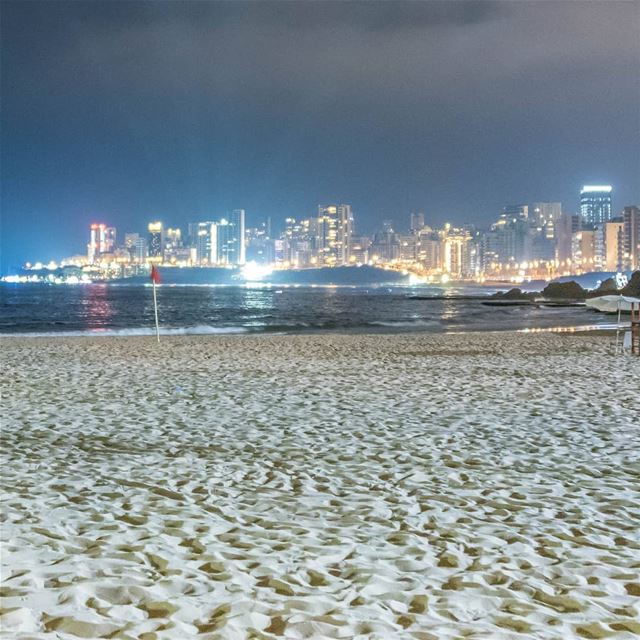 White Sand in the city Barcelona or Beirut?join @nahnooleb tomorrow for...