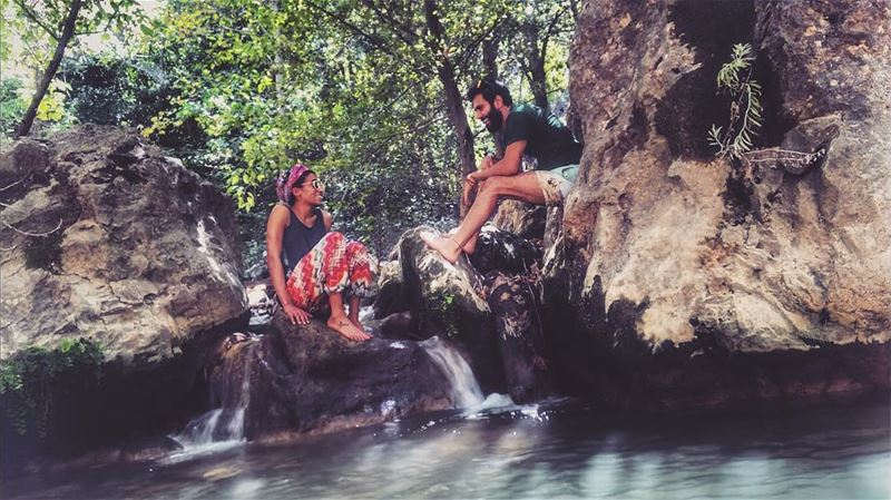 Happiness in All its verbatims !  saytrees  hiking  camping  waterfall ...