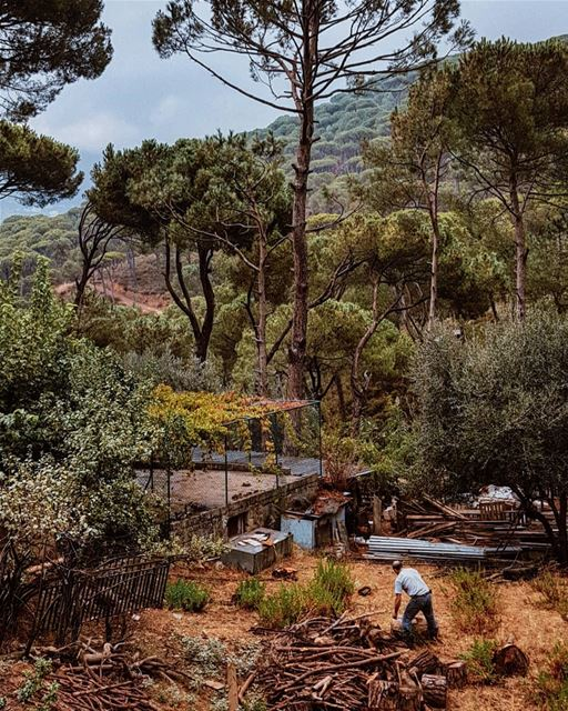 Getting ready for  Winter 🌧 🍃 StoriesFromLebanon WHPdailylife..... (Hasbayya, Mont-Liban, Lebanon)