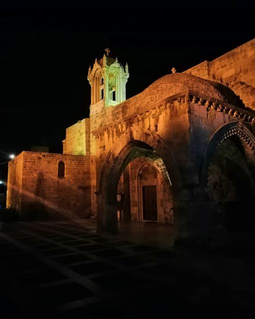 A church is a hospital for sinners, not a museum for saints...... (Byblos - Jbeil)