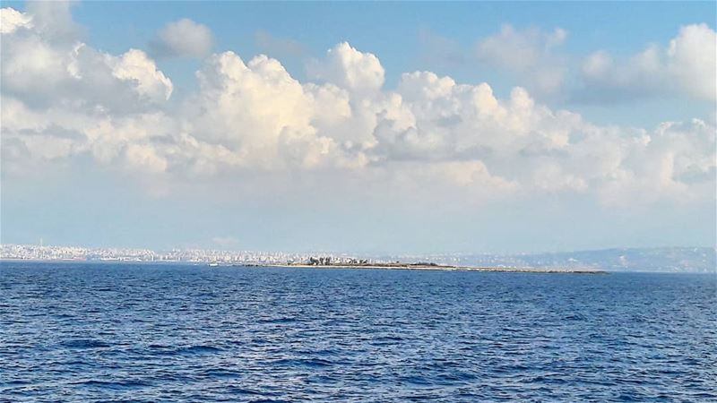 The Rabbits island, that belongs to the Palm Islands Nature Reserve...... (Tripoli, Lebanon)