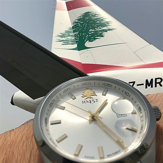 thankyou so much Captain for this  greatshot of your  10452dna  classic ... (Beirut–Rafic Hariri International Airport)