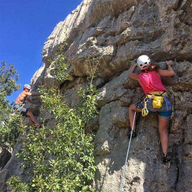 Start Rock Climbing now with a friend and have some interesting weekends... (Kasrouane)