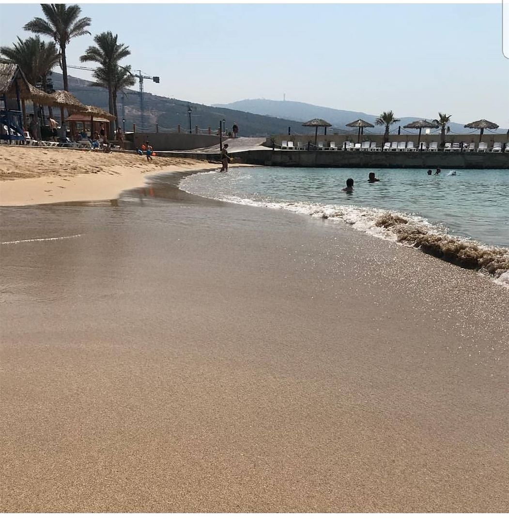 batroun  البترون_سفرة  resorts  beach  sandybeach  sea  mediterraneansea ... (Sawary Resort & Hotel-Batroun)