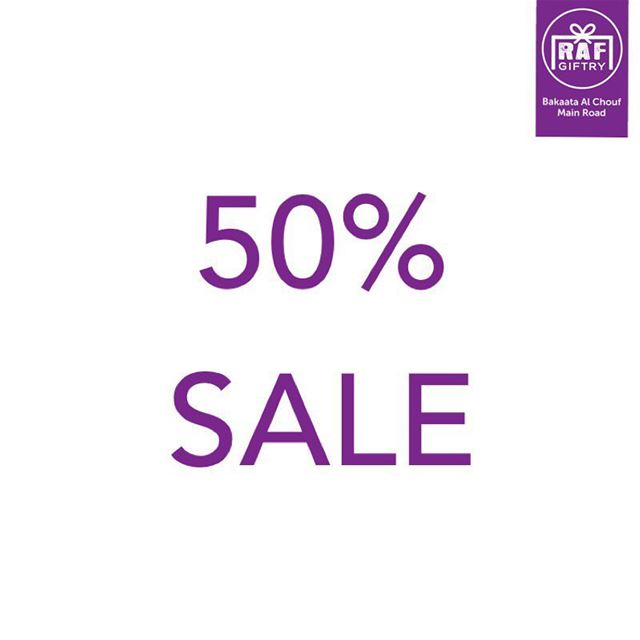 Benefit from 50% off on all summer collection folks!! 😎 raf_giftry...... (Raf Giftry)