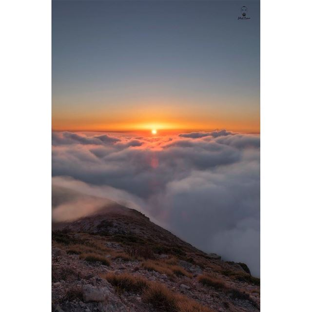 The beauty of Sunset!!!... (Mount Lebanon Governorate)