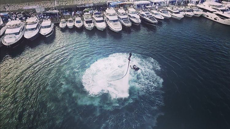 Take me where Summer never Ends 🌞  flyboard  flyboardlebanon ... (Zaitunay Bay)
