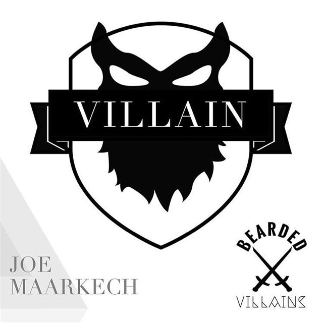 I'm honored by earning my first patch in the bearded villains brotherhood!...