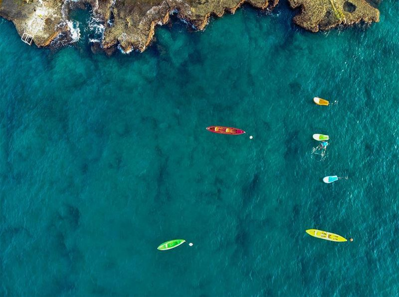 Colors and shapes... shot in  anfeh  lebanon  photography  drone  dgi ...