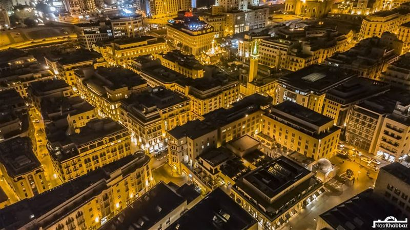 wide shot of the next photo.  streetphotography  urban  aerialphotography ... (Beirut Souks)