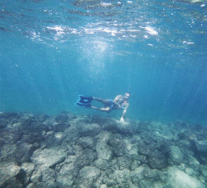 tyre  love  amazing  underwater  beauty  beautiful  cute  me  instagood ... (Tyre, Lebanon)