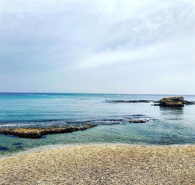 الهدوء قبل العاصفة 😊Morning from Batroun 😍Photo taken by @faresjammal � (RAY's Batroun)