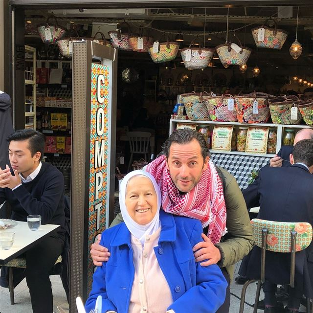 My happiest moments is when I spend the day with my Queen Mama, our... (Comptoir Libanais)