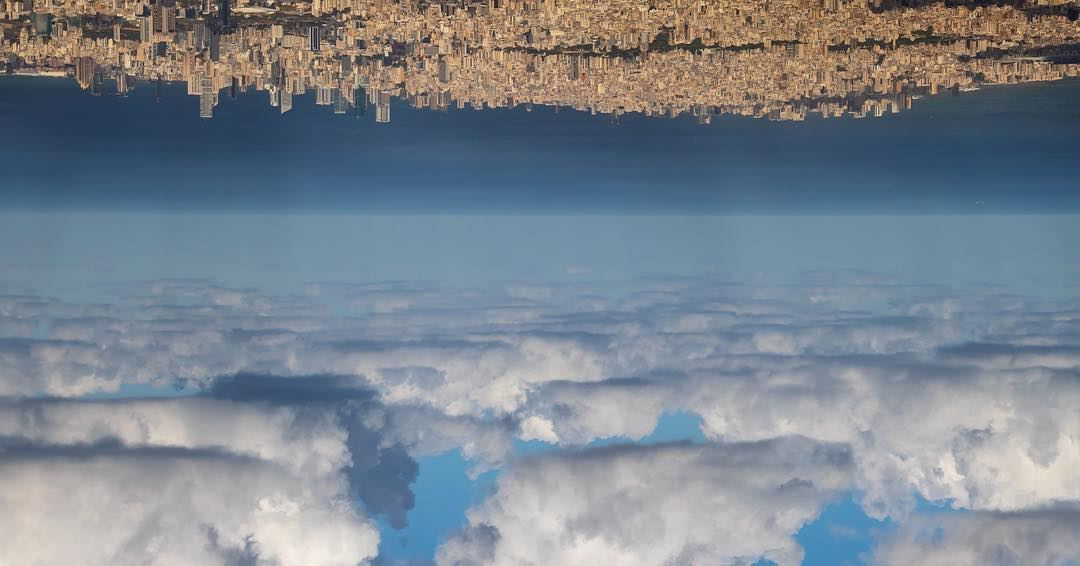 Imagining beirut upside down.We might forget a place once we leave it,...