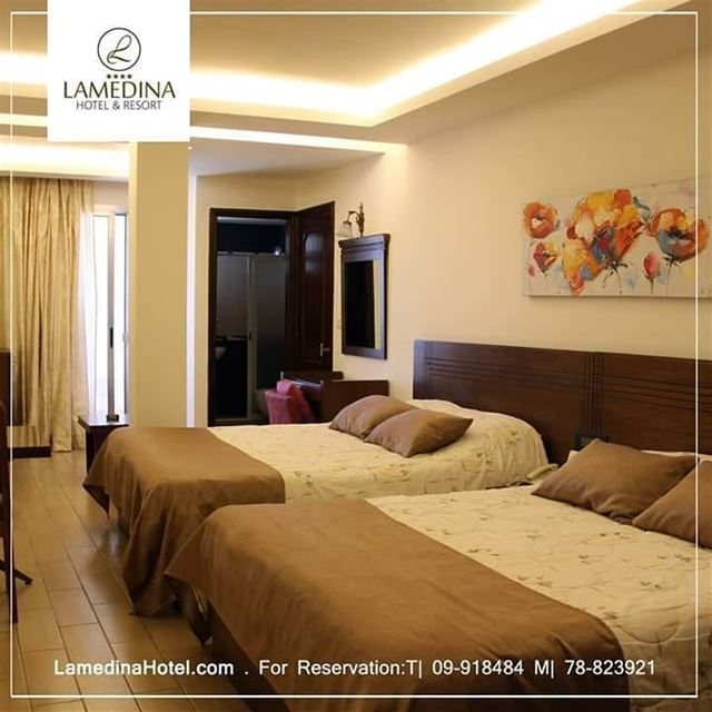 Enjoy your stay  LamedinaHotel 🇱🇧️ For info & reservation: T| +961.9.9184