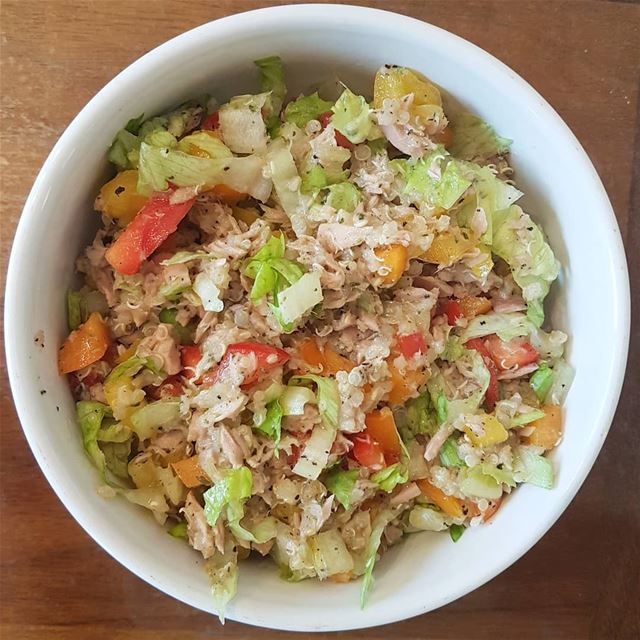 Tuna Quinoa Salad🌸Ingredients🌸2 cans of Tuna1 cup of Cooked Quinoa1... (Greater Montreal)