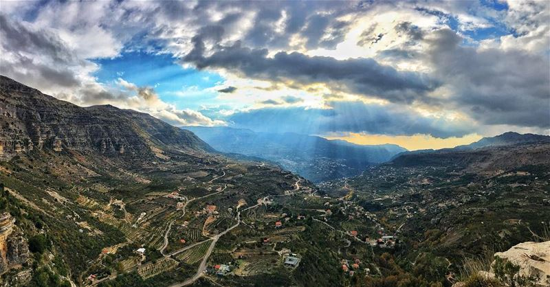 Because in the end you won't remember the time you spent working at the... (Akoura, Mont-Liban, Lebanon)
