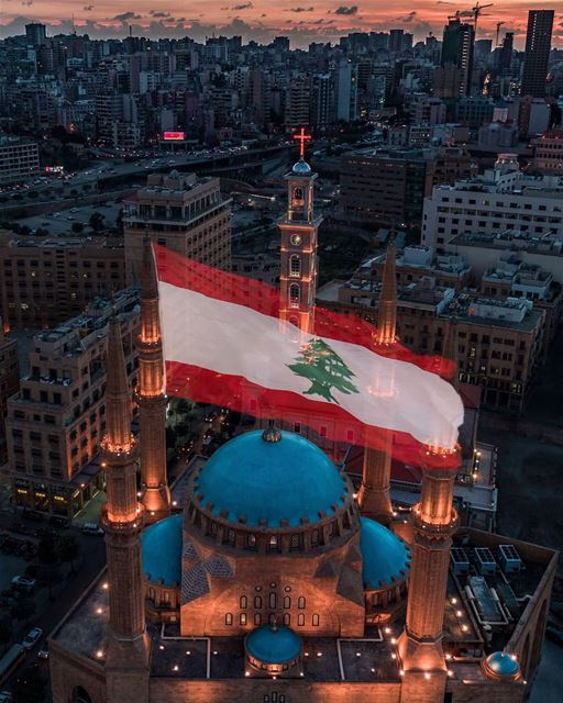 United we stand ❤️Happy 75th independence day! 🇱🇧...  lebanon ... (Beirut, Lebanon)