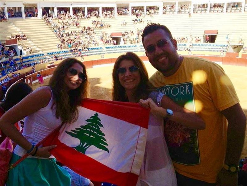 كلنا للوطن للعلى للعلم happy independence day lebanon!🇱🇧🇱🇧🇱🇧🇱🇧... (Seville, Spain)