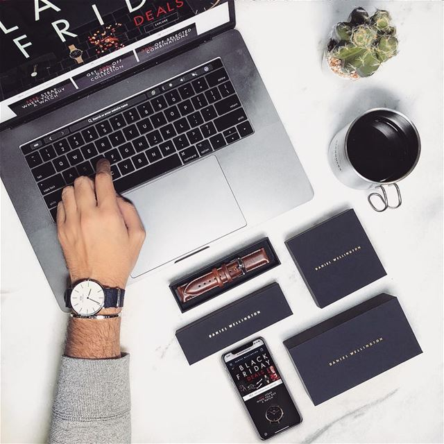 BlackFriday deals are STILL ON!!! Visit @danielwellington website for ... (Beirut Souks)
