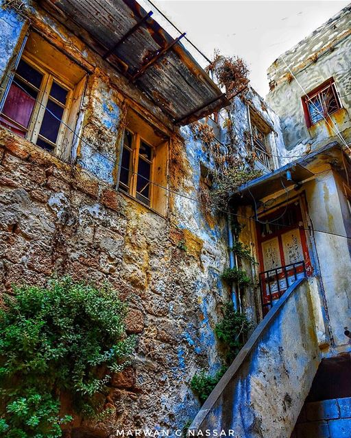 The house of Ms. Casspina, the Lebanese Jewish Old Lady......📍The... (Sidon, Lebanon)
