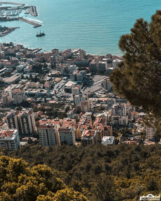 Nature, structure, sea  landscape  architecture  photooftheday  nikonlb ... (Jounieh Bay . خليج جونيه)