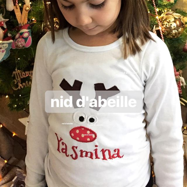 Dear Santa 🎈i v been good allll year 🌲Write it on fabric by nid d'abeille