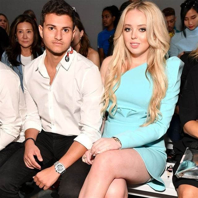 Tiffany Trump is dating London-based Michael Boulos, of Lebanese origins ...
