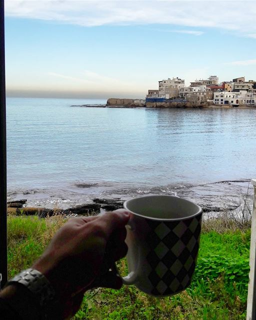 Good morning everyone ☕........... coffee  workview ... (NCMS-National Center for Marine Sciences  / CNRS-Lebanon)