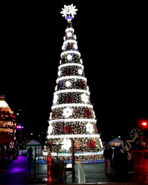 Beirut🌟DT... Christmas  🎄  spirit  lights  season  christmastree ...